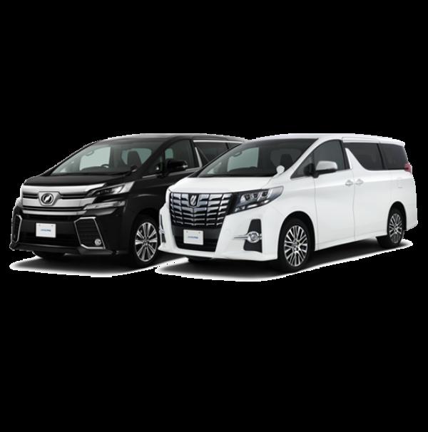 Toyota Alphard & Vellfire (12 Jam Dengan Pengemudi Dalam Kota)